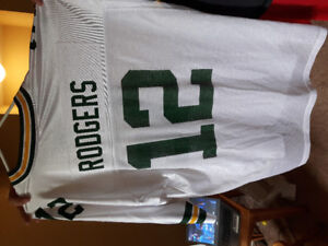 Aaron Rodgers Official NFL Jersey 2XL