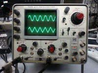 Tektronix 422 15Mhz Dual Channel with two Probes Oscilloscope