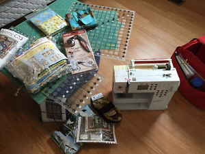 Bernina Sewing Machine with Extras