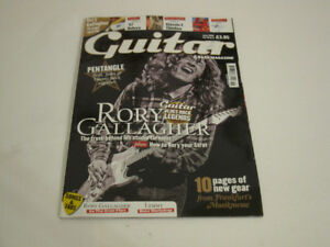 Guitar & Bass, June 2008: Rory Gallagher, Lemmy, '57 Deluxe amp