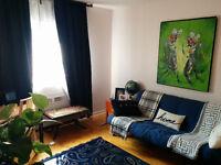 Great 3.5 apartment for sublet! UdeM, Good price, FFurnished