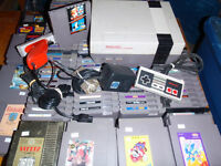 Vintage Video Games @ Flea Market Fredericton Mall Sunday
