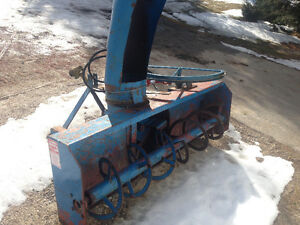 6 foot Lucknow snowblower