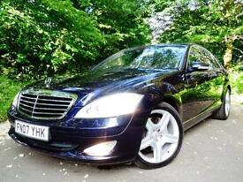 2007 Mercedes-Benz S320 CDi 3.0TD 7G-Tronic..1 OWNER..EYE CATCHING COLOUR COMBO