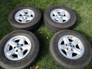 Factory Mazda Alloy Rims With Tires