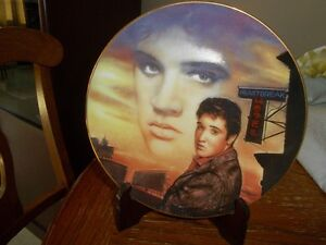 Assiette de Collection De Elvis Presley