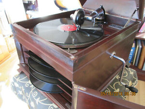 gramophone RCA VICTOR BERLINER authentique