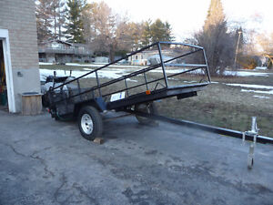 Tilt and load Trailer new build  All metal construction