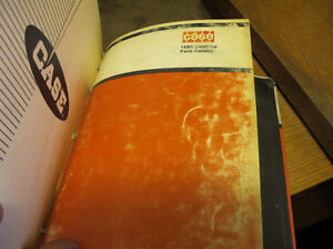 Case 1010, 1060, 1660 Combine Parts Manuals Regina Regina Area image 4
