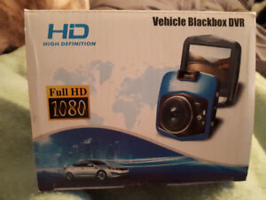 New in the box, Never used.  Vehicle blackbox dvr.  HD 1080.