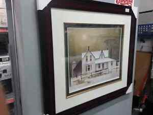 A.j Casson painting. We sell used art and paintings