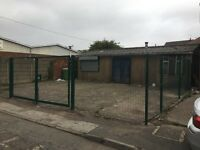 Industrial unit to let. Darlaston. Single storey. Fenced. 3 phase