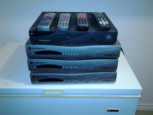 4 décodeurs Shaw