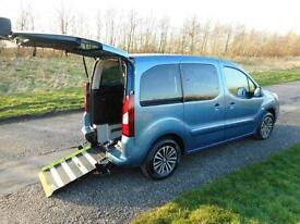 2013 63 Peugeot Partner Tepee 1.6 Hdi 5 SEATS Wheelchair Accessible Disabled WAV