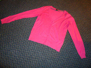Ladies Size L/G Neon Pink Cardigan by H&M Kingston Kingston Area image 1