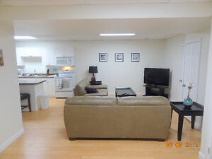 Great 2 Bedroom Furnished Basement Suite in Dawson Creek, BC