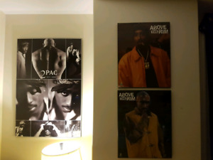 Tupac Wall Pictures