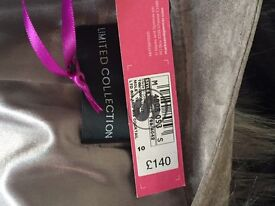 Brand New M&S Limited collection Real suede jacket