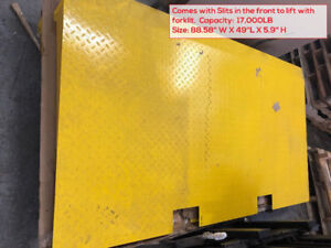Container ramps, loading ramps, dock boards, dock plates.