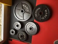 Olympic marcy weight plates 115kg