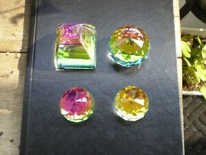 Swarovski Crystal Colored Paper Weights Kitchener / Waterloo Kitchener Area image 1