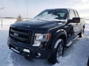 2013 Ford F-150 XLT4WD SuperCab 145 FX4