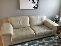 Free 3 seater and 2 seater leather couch