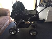 New pram with carry cot and car seat