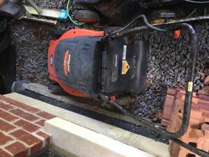 Black and Decker CMM1200 cordless 24v lawn mower