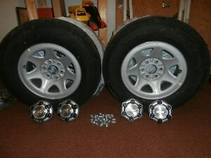 4 wheels/tire combo priced to go(no kms.)