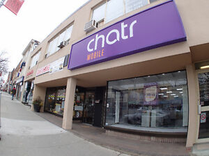 Chatr Mobile @ St Clair Ave W and Dufferin.(Earlscourt) Toronto.