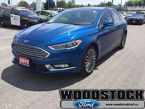 2017 Ford Fusion Titanium  CERTIFIED PRE OWNED 3.99% OAC UP TO 7