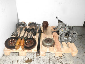 JDM Subaru STI 2002-2003 6 Speed Transmission, Brembo, Different