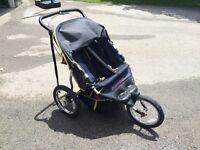 Running DOUBLE stroller