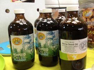 Cold pressed hemp seed oil  Kitchener / Waterloo Kitchener Area image 1