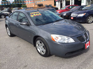 2008 Pontiac G6 SE SEDAN....LOW KMS....PERFECT COND.