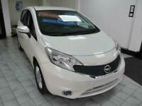 Nissan Note 1.2 Acenta Premium 5 Door Hatchback in Metallic White Was £5995