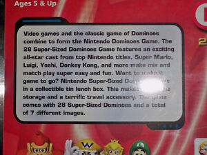 Nintendo 28 Super Sized Dominoes Sababa Toys 2004 Super Mario Se Windsor Region Ontario image 4
