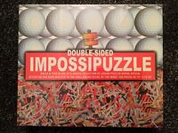 Brand New&Sealed - Double Sided Impossipuzzle - Balls and Tees 550 pieces