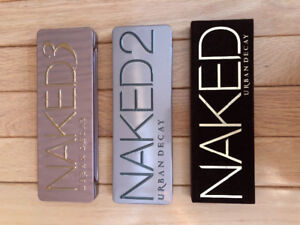 Urban Decay Naked 1, 2 & 3 Palette Set