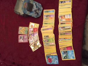 360 Pokemon cards + Tin