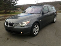 Loaded with Navigation ~ 2006 BMW 5-Series 530 xi Touring Wagon
