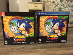 Sonic Mania BNIB NA Sealed for PS4, PC or Switch