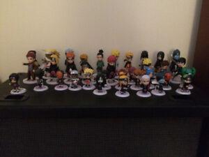 Set of Naruto Figures