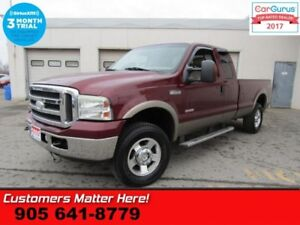 2005 Ford F-250 Super Duty Lariat  DIESEL 4X4 LEATHER POWER SEAT
