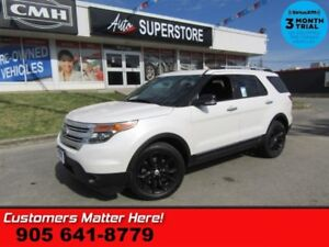 2014 Ford Explorer XLT  4X4 LEATHER NAVIGATION DUAL ROOF CAMERA