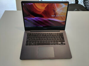"Asus ZenBook UX430UQ 14"" wide view 10/10 still under warranty!"