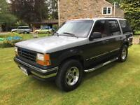 80S 90S ICON FORD EXPLORER XLT 2 TONE PAINT AMERICAN 4X4 RED INTERIOR GREAT SPEC