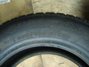 1 Hankook 205/65R15 Winter Tire