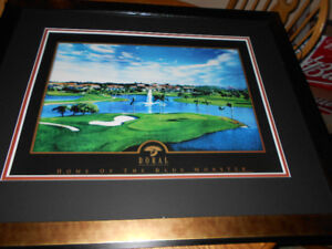Very Large Print of Doral Resort and Spa Framed and Matted